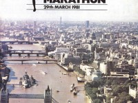 Gillette London Marathon programme
