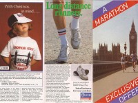 Gillette-London-Marathon-merchandise-leaflet