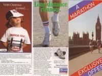 Gillette-London-Marathon-merchandise-leaflet